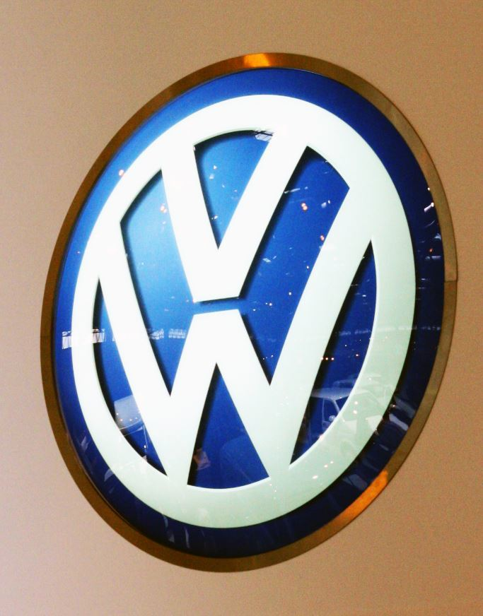 VW sign mtn