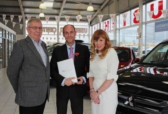 Tees Valley Mitsubishi gives customer a break - Motor Trade News