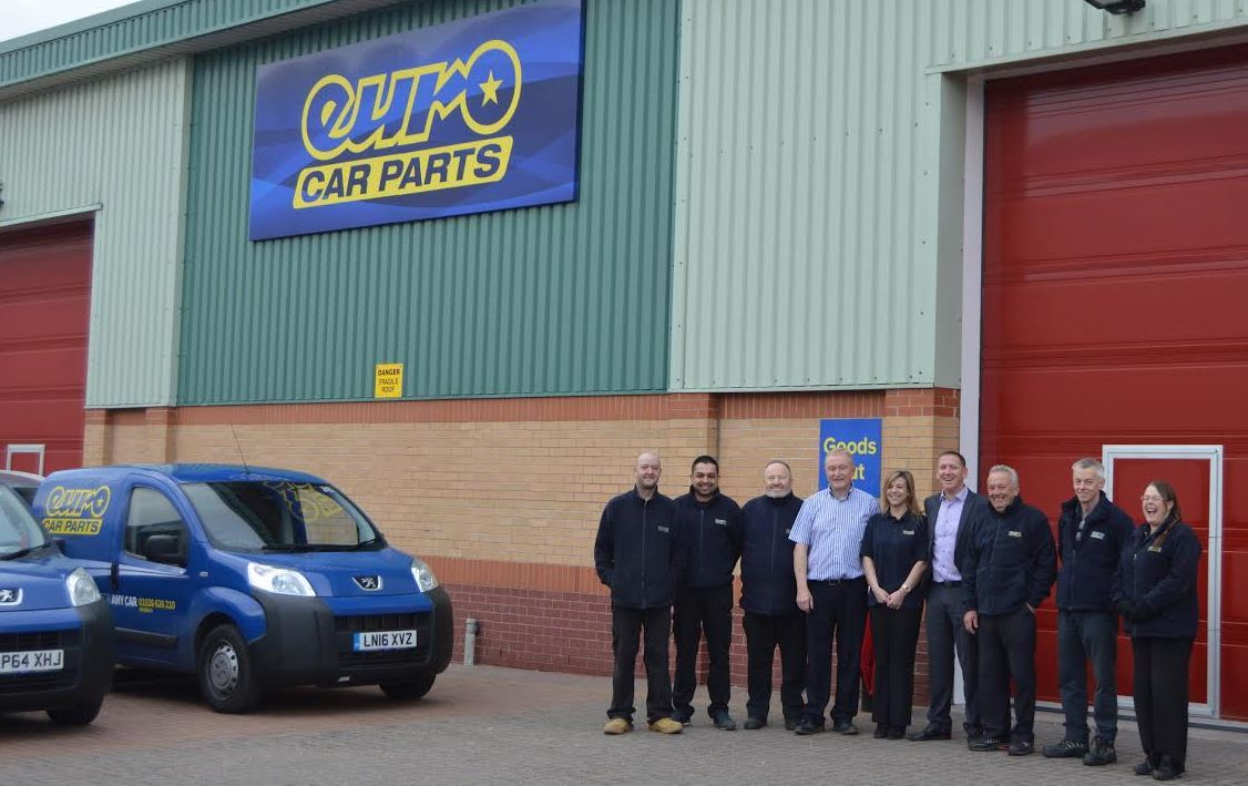 Euro Car Parts Opens New Branch In Warwick Motor Trade News