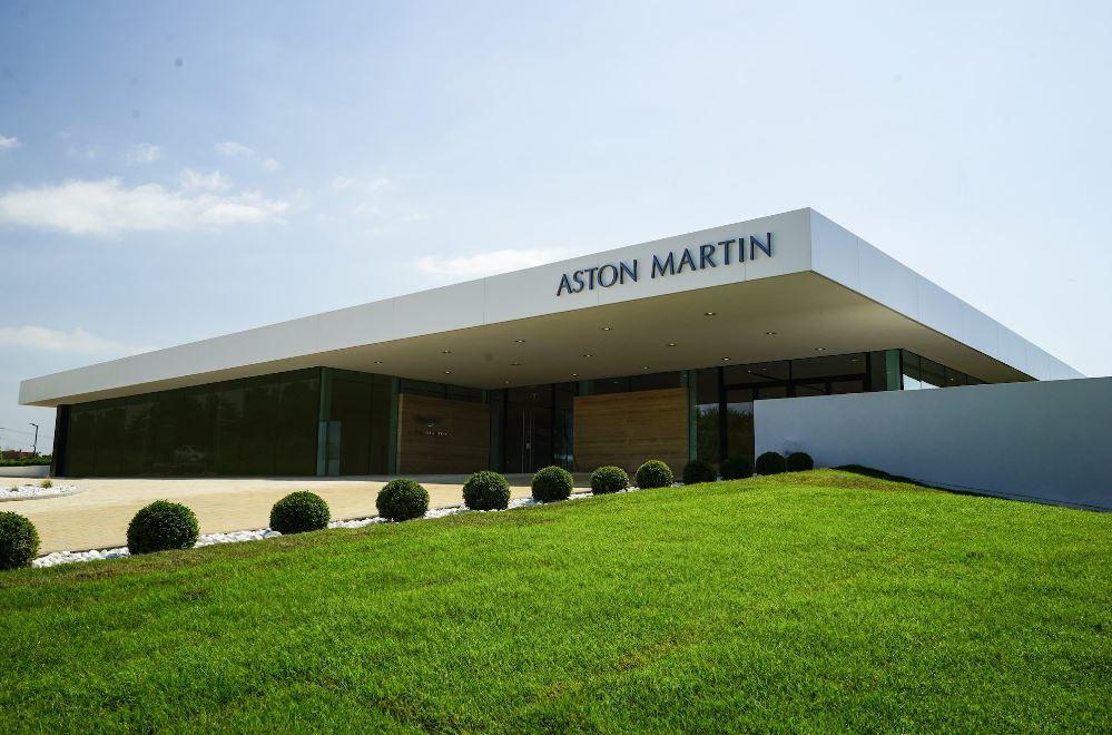 Aston Martin Bristol Official Opening Motor Trade News