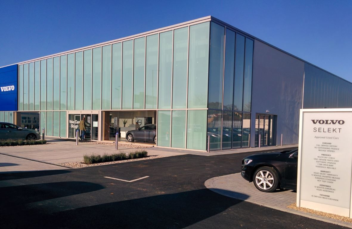 squire furneaux open upgraded volvo cars slough