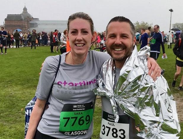 Startline charity run
