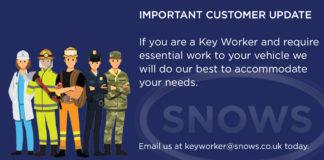 customer update snows